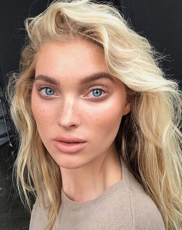 Elsa Hosk - look - pele natural - verão - maquiagem
