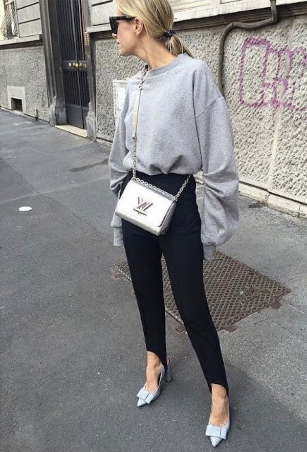 It girl - moletom-legging-bolsa-corrente - moletom - inverno - street style