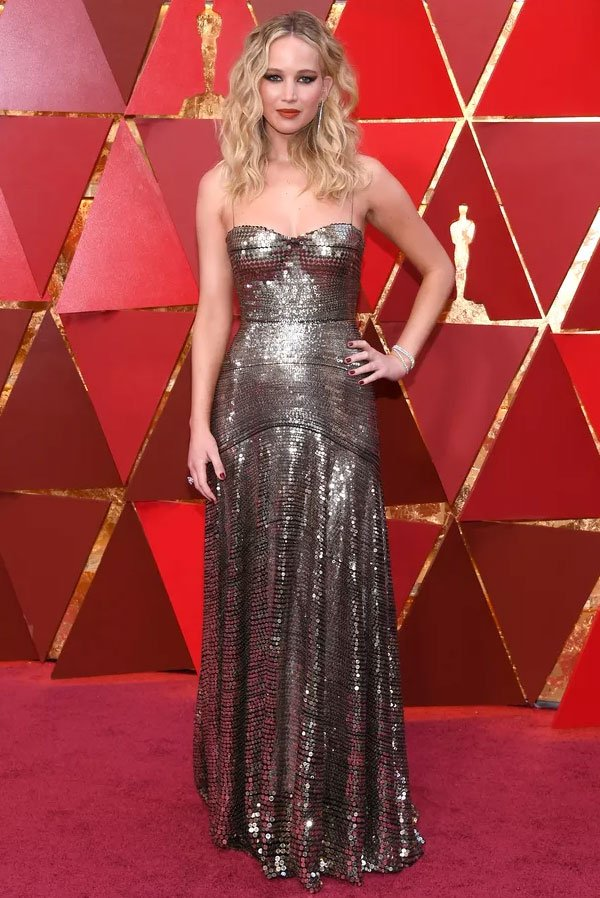 Jennifer Lawrence Veste Dior