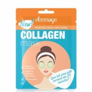 Máscara Anti-Idade Facial Collagen