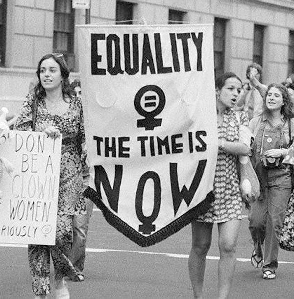 manifestação mês da mulher