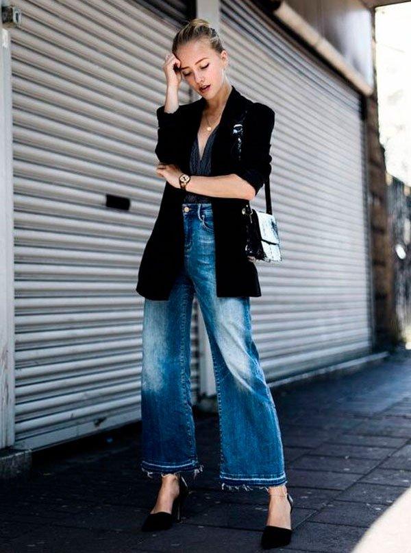 it girl - pantacourt - culotte - verão - street style
