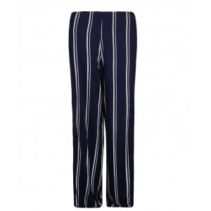 Pantalona Feminina Cintura Alta Listras
