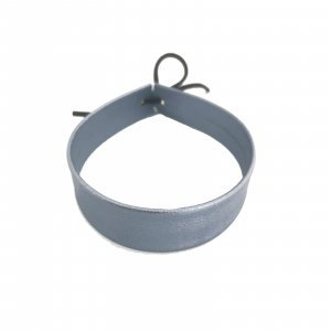 Choker Metallic Blue Tamanho: U - Cor: Azul Marinho