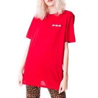 Camiseta Don'T Come Close Tamanho: G - Cor: Vermelho
