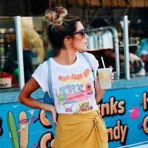 11 Maneiras de Usar T-shirt em um Look Cool para o Lolla