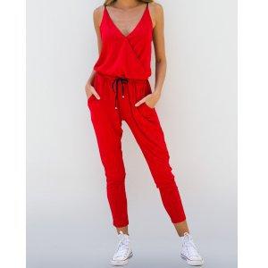 Macacão Trend Red Tamanho: P - Cor: Vermelho