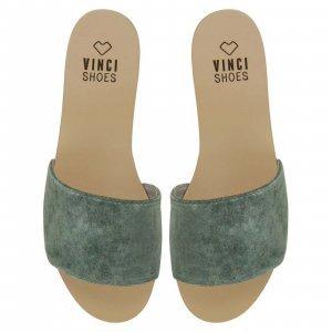 Flat Venice Aqua Tamanho: 41 - Cor: Verde