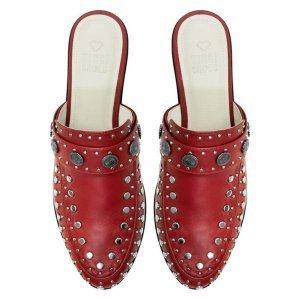 Beta Red Studded Tamanho: 35 - Cor: Vermelho
