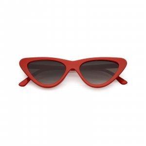 Óculos Cat Eye 77 Vermelho Tamanho: U Cor: Vermelho