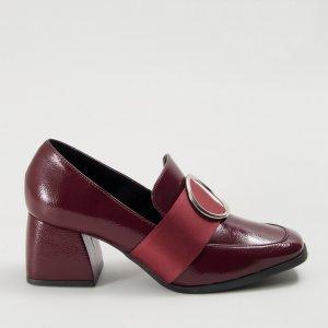 Sapato Classic Verniz Bordô Tamanho: 36 - Cor: Vinho