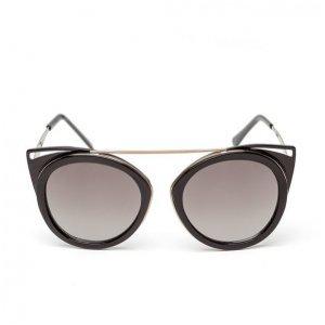 Óculos Feminino Gatinho Com Ponte Preto