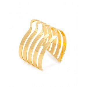 Bracelete Metal Ondas