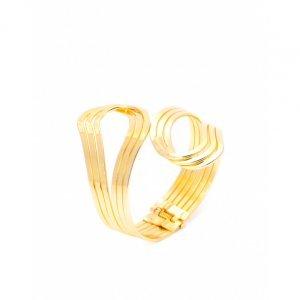 Bracelete Metal Curves
