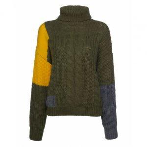 Suéter Patchwork