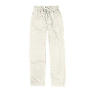 Calça Feminina Pantalona Em Tecido De Viscose Com Bolsos