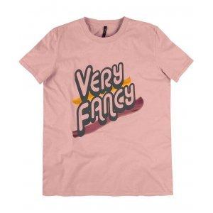 T-Shirt Em Malha Puída Com Estampa Frontal