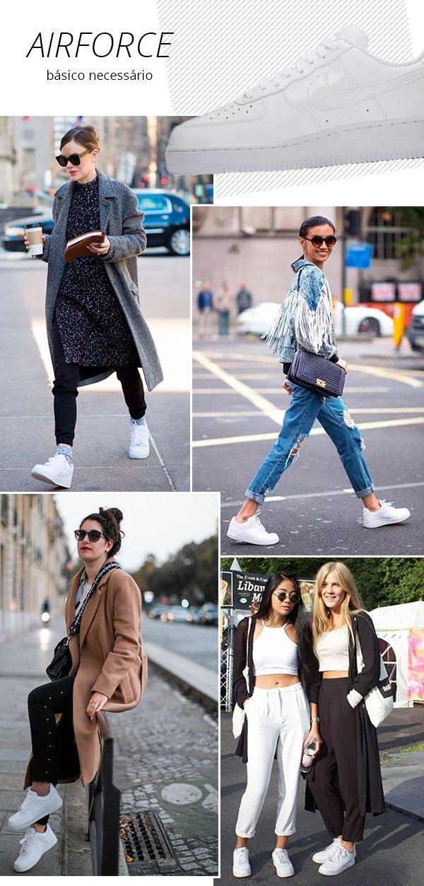 it girls - nike - tenis - verão - street style