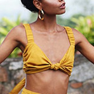 Cropped Jane Tamanho: U - Cor: Amarelo