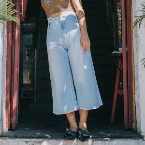 Pantacourt Jeans Tamanho: M - Cor: Azul
