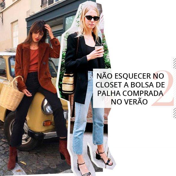 it girls - outono - bolsa de palha - outono - street style
