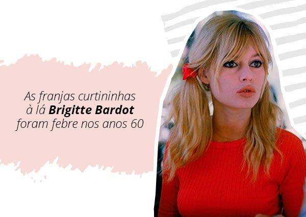 Brigitte Bardot - franja - curtininha - verão - street style