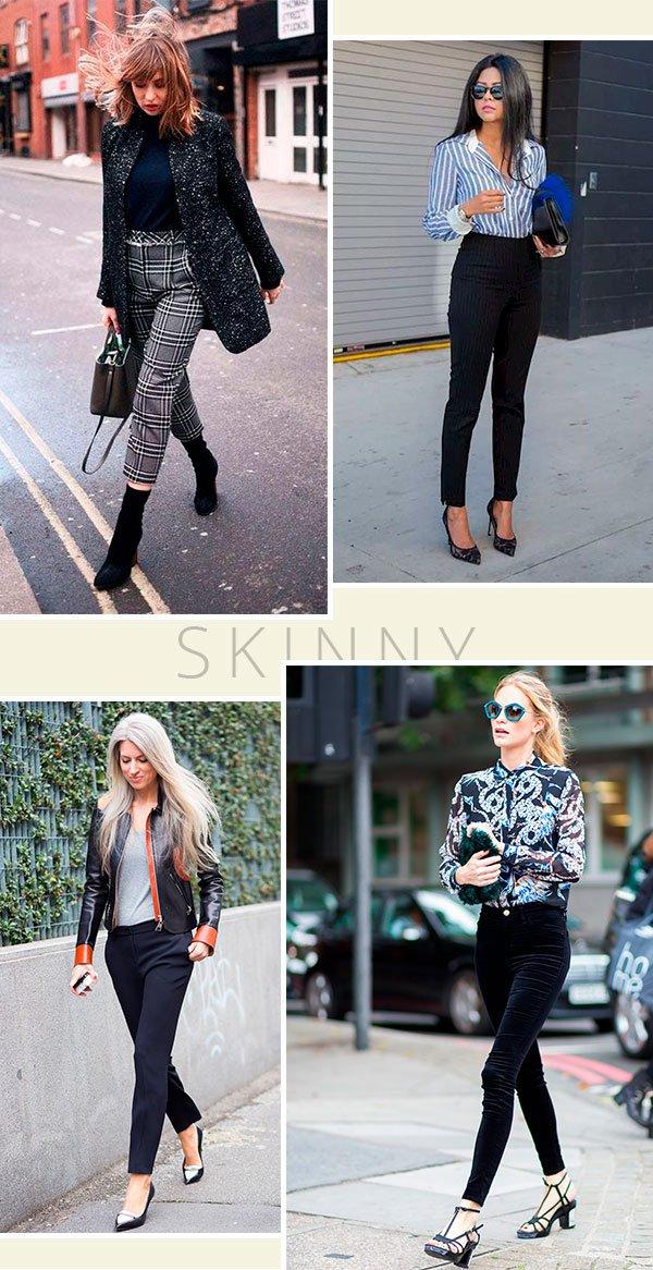 calça - skinny - looks - it girls - street style