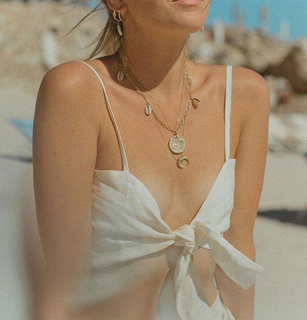 Camille Charriere - colar-búzios - búzios - verão - street style