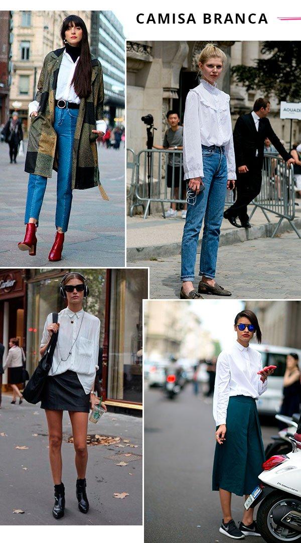 it girls - camisa  - camisa branca - verão - street style