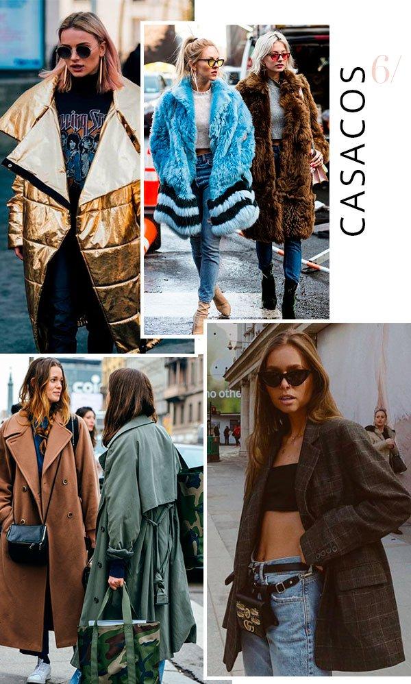 it girl - casaco - oversized - inverno - street style