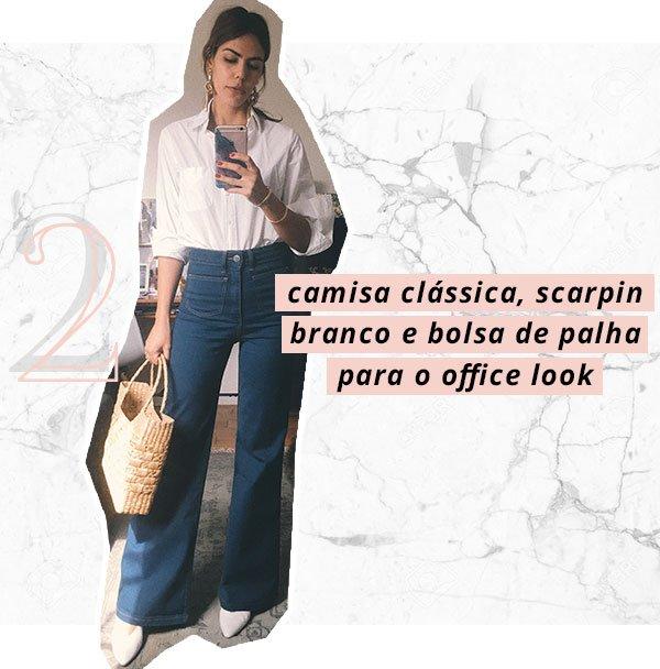 Catharina Dieterich - calça flare - anos 90 - verão - street style