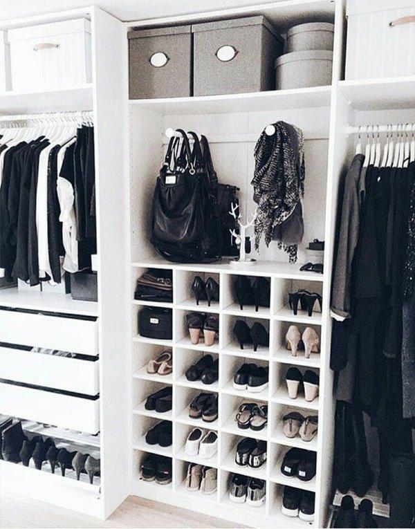 closet - bolsa preta - bolsa preta - meia estação - closet