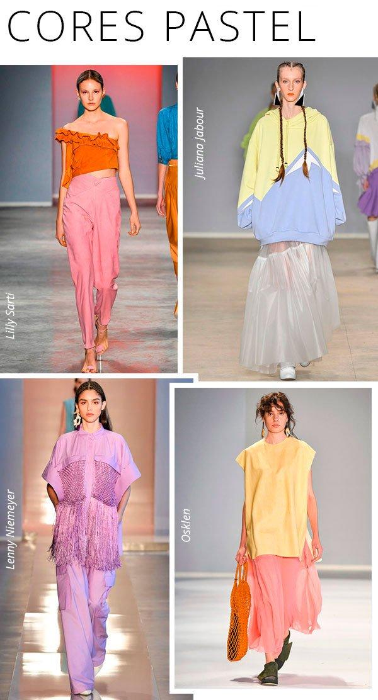 cores pasteis - spfw - tendencia - trend - desfile