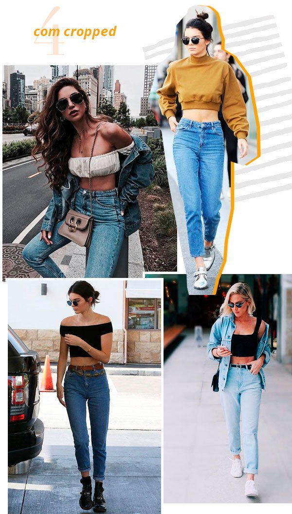 it girls - mom jeans - cropped - look - street style