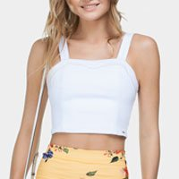 Regata Cropped Branca