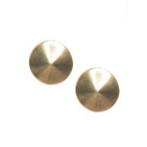 Brinco Disco - Ouro Velho Tamanho: U - Cor: Ouro Velho