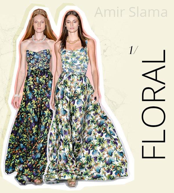 amir slama - floral - spfw - 2018 - trend