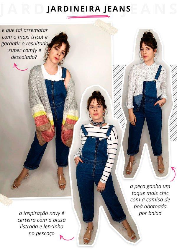 Gabriela bonomi - cotton on - jardineira jeans - verão - steal the look