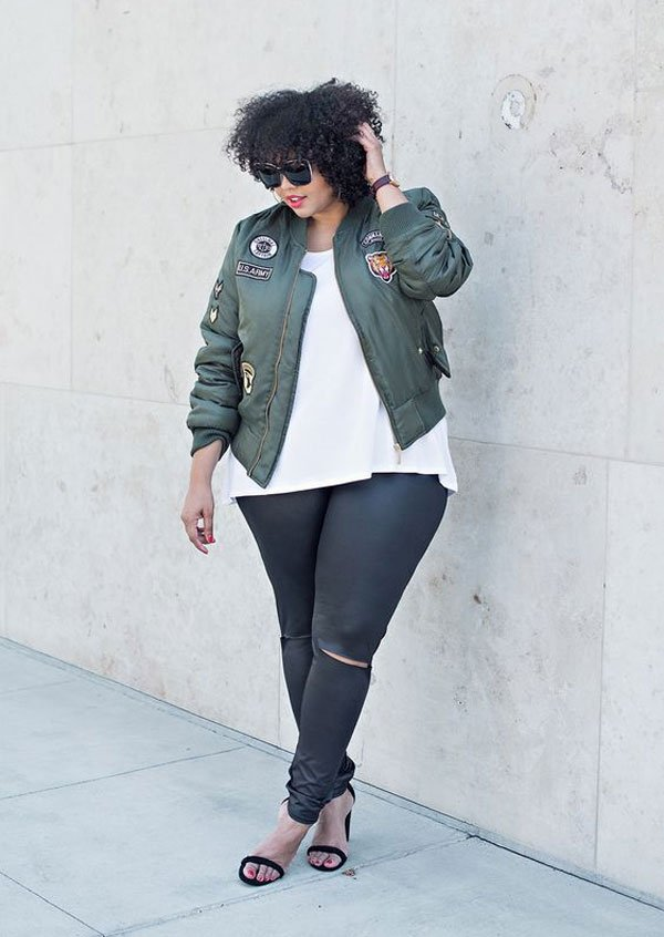 it-girl - blusa-branca-calça-destroyed-bomber-patches - patches-bomber - inverno - street style