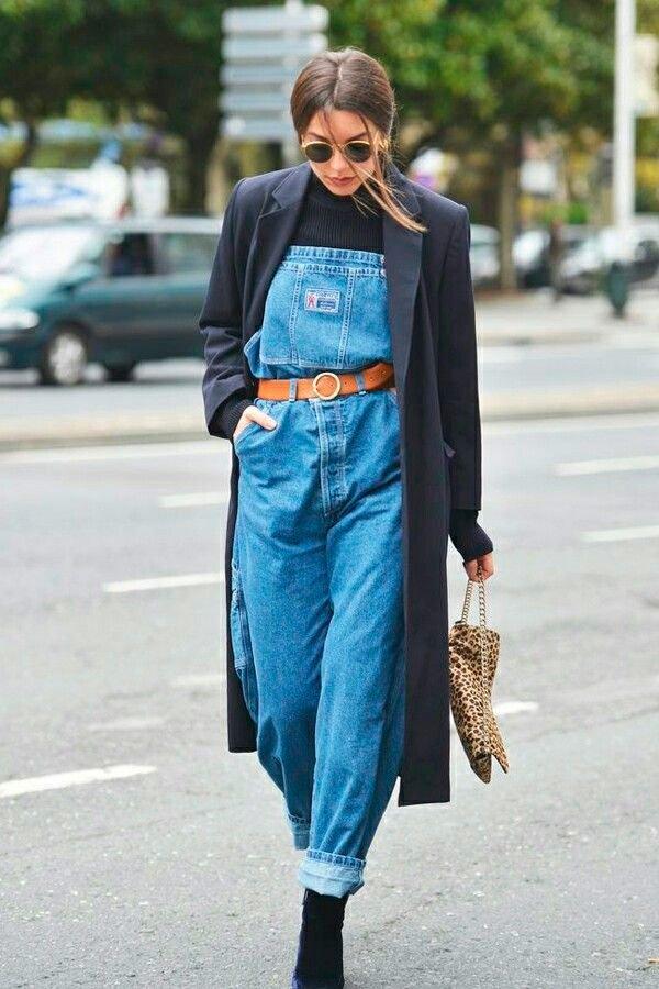 It Girl - macacao-jeans-turtleneck-bota - macacão - outono - Street Style