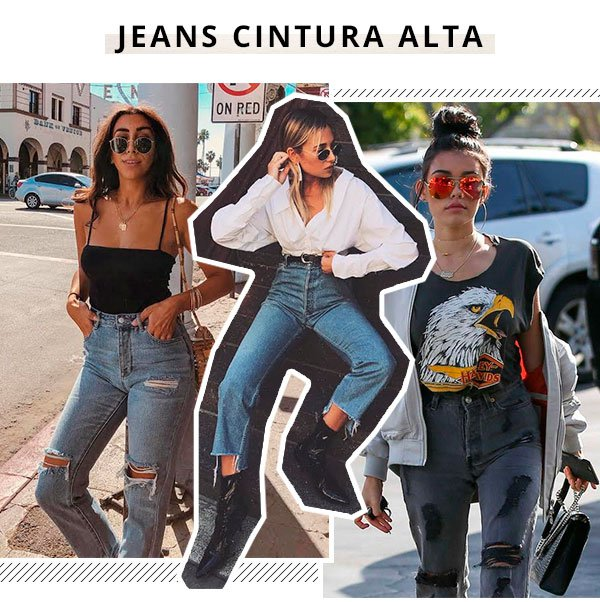 California Girls - jeans  - cintura alta - verão - california