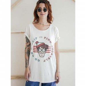Camiseta Wally Tamanho: P - Cor: Branco