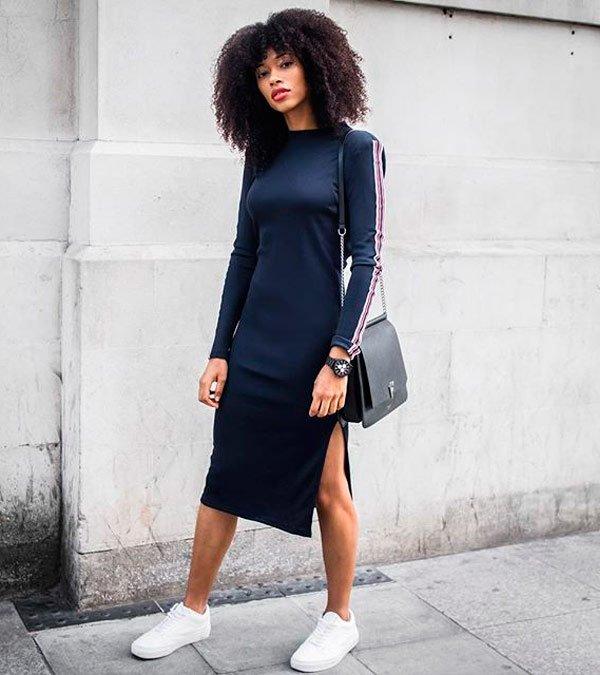 Lesley Fresh Lenghts  - vestido-midi-bolsa-tenis - vestido midi - meia estação - street style