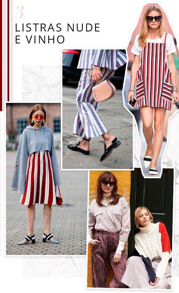 it girls - listras - estampa - verão - street style