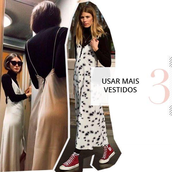 it girls - vestido slip dress - vestido longo sobreposicao - outono - street style