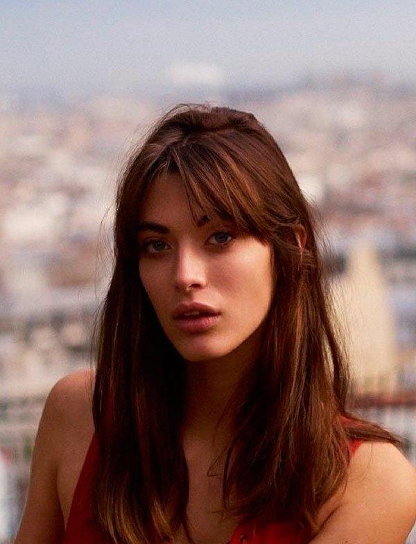Louise Follain - cabelo-franja-beleza-fios - curtain bangs - verão - estúdio