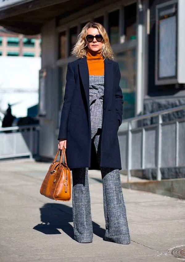 It Girl - macacao-cinza-turtleneck-laranja - turtleneck - outono - Street Style