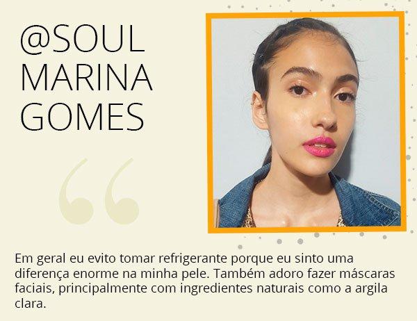 Marina gomes - modelo - spfw - dica - beleza