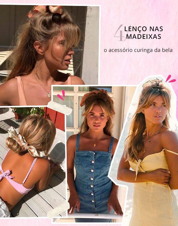 matilda djerf - lenço cabelo - lenço - verão - street style