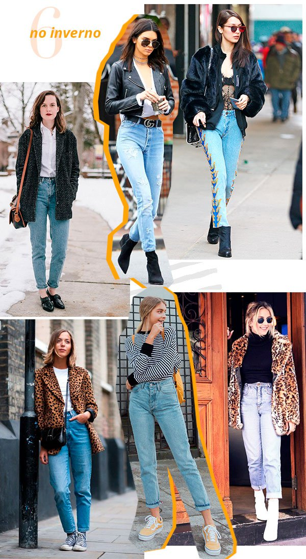 it girls - mom jeans - inverno - looks - street style